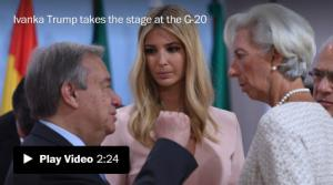 <font color='#0000ff'>[Video] 'Unelected, unqualified': The internet's reaction to Ivanka Trump taking her dad's seat at G-20</font>