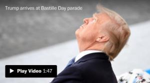 <font color='#0000ff'>[Video] Trump revels in French military pomp far from White House turmoil</font>