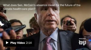 <font color='#0000ff'>[Video] Amid uncertainty about McCain's health, Senate returns with GOP agenda in flux</font>